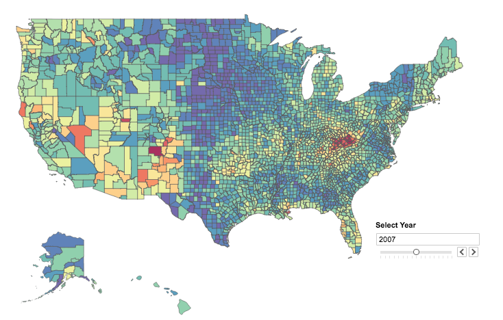 FigureFactory for zipcode/US choropleth maps - Discussion · Issue
