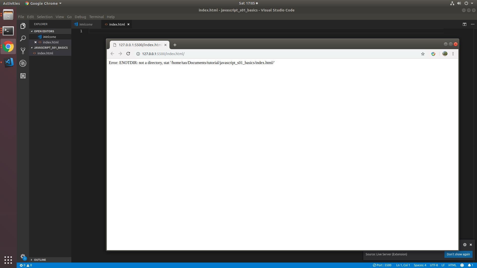Live Server URL problem · Issue #218 · ritwickdey/vscode-live-server