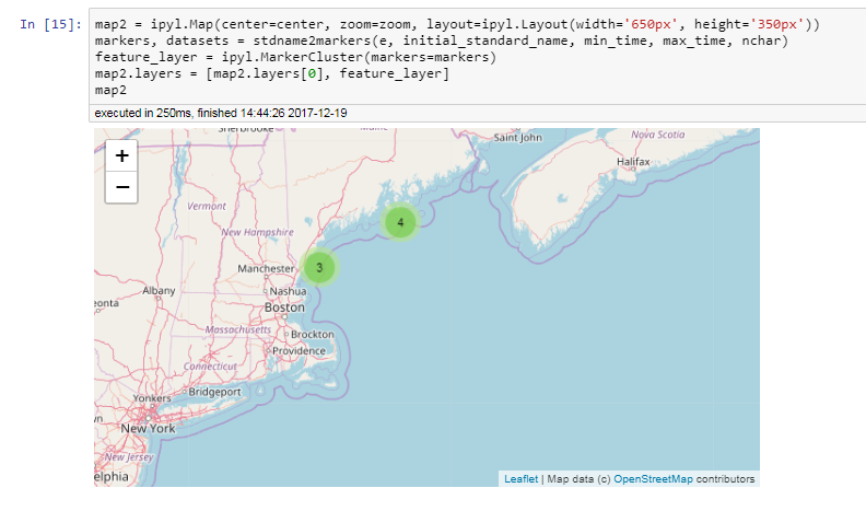Add on_click to Marker objects · Issue #92 · jupyter-widgets