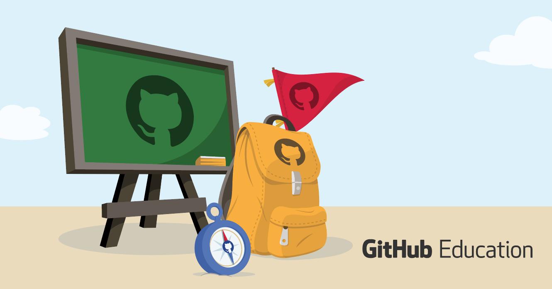 GitHub Education banner image