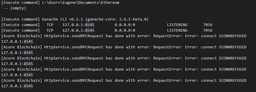 Can't run Ganache server · Issue #14 · microsoft/vscode
