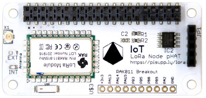 IoTLoRaRange/IoT LoRa Raspberry Pi Node pHAT at master