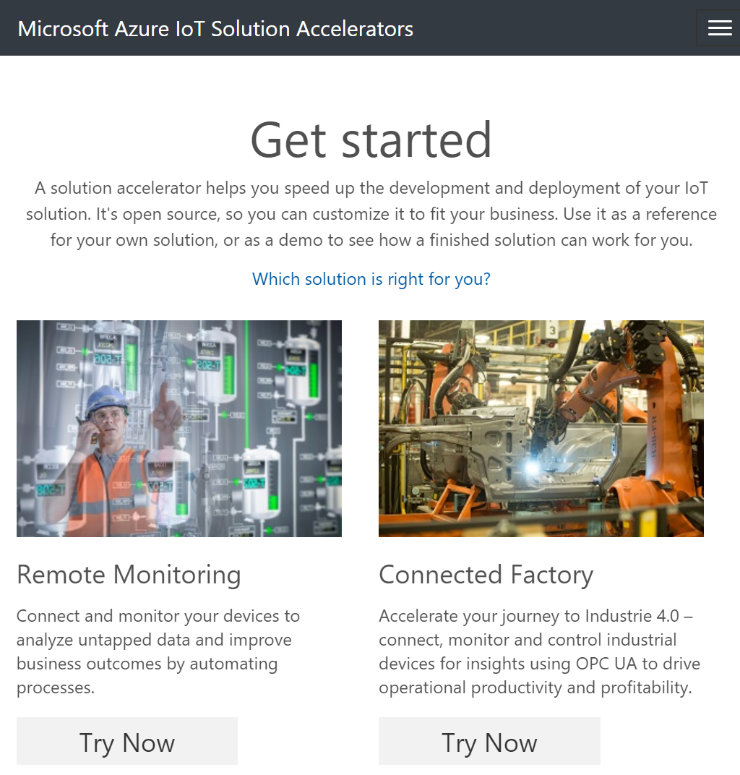 azure-iot-000-solution-accelerators