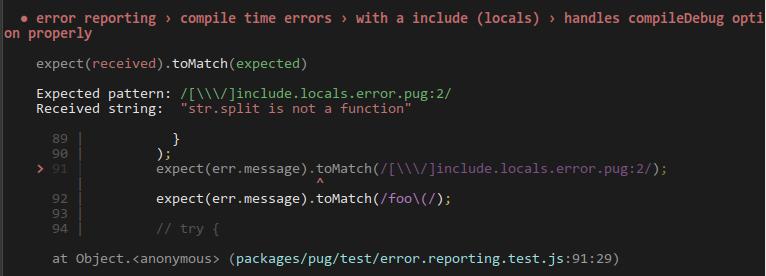 pug-error-reporting