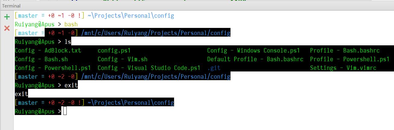 2 Default Windows Console