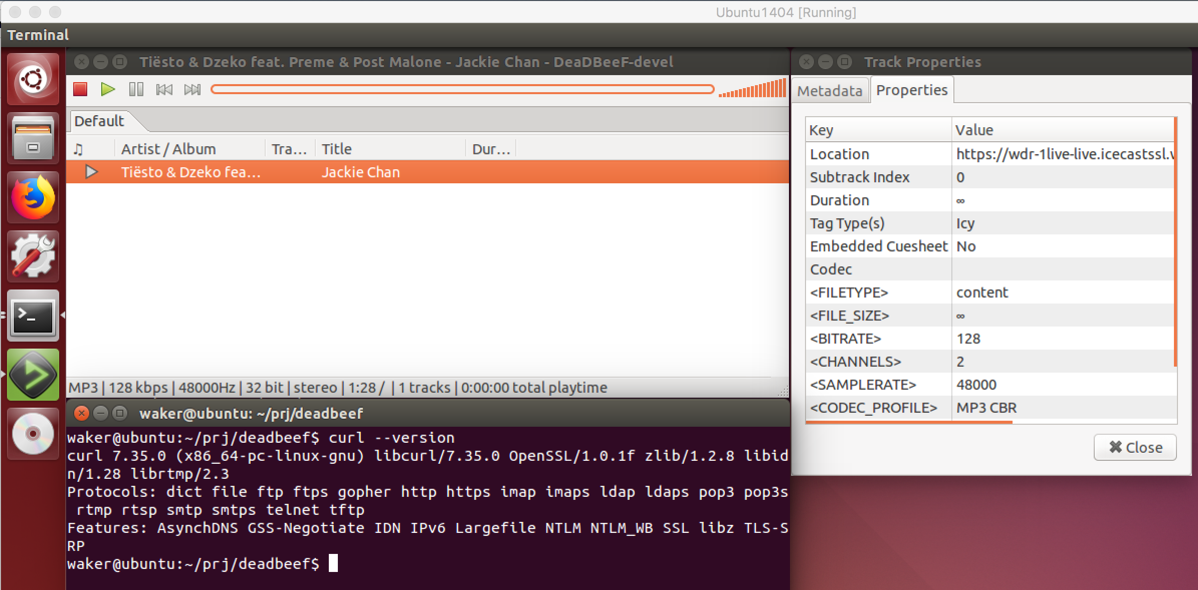 Gentoo] Playing HTTPS streams stops with an error after a