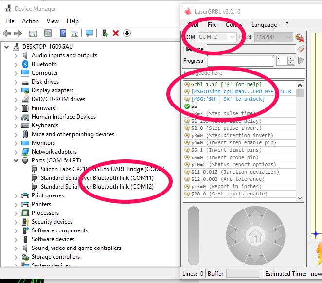 Connecting PC to ESP32_grbl through Bluetooth · Issue #153