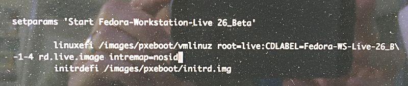 Can't start my Fedora USB stick at all · Issue #25 · Dunedan