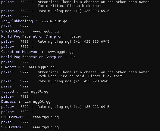 New Pa Zer Bots Creating False Flags On All Other Players Issue 59 Pazerop Tf2 Bot Detector Github