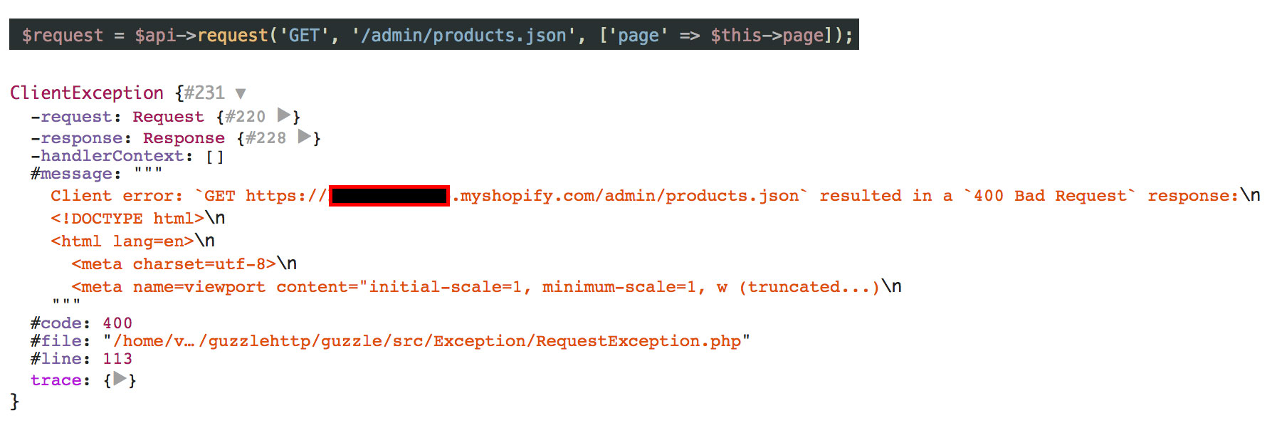 Newly created shops do not allow GET params to be sent as JSON