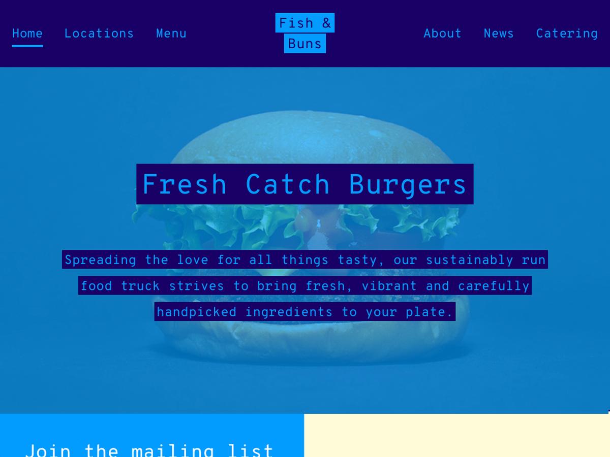 Street Food Wordpress