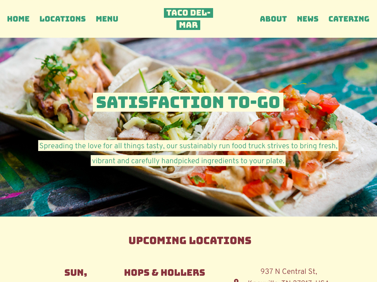 R2 - Examples · Issue #1 · paulcollett/food-truck-wp-theme · GitHub
