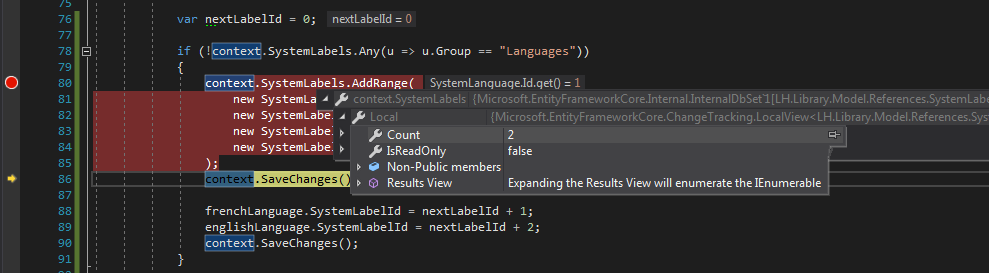 AddRange doesn't add all objects in collection · Issue