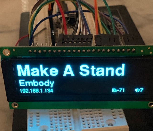 OLED display crashes at random · Issue #742 · olikraus/u8g2