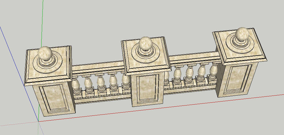 sketchup export gltf, the gltf will lose some thing  such as