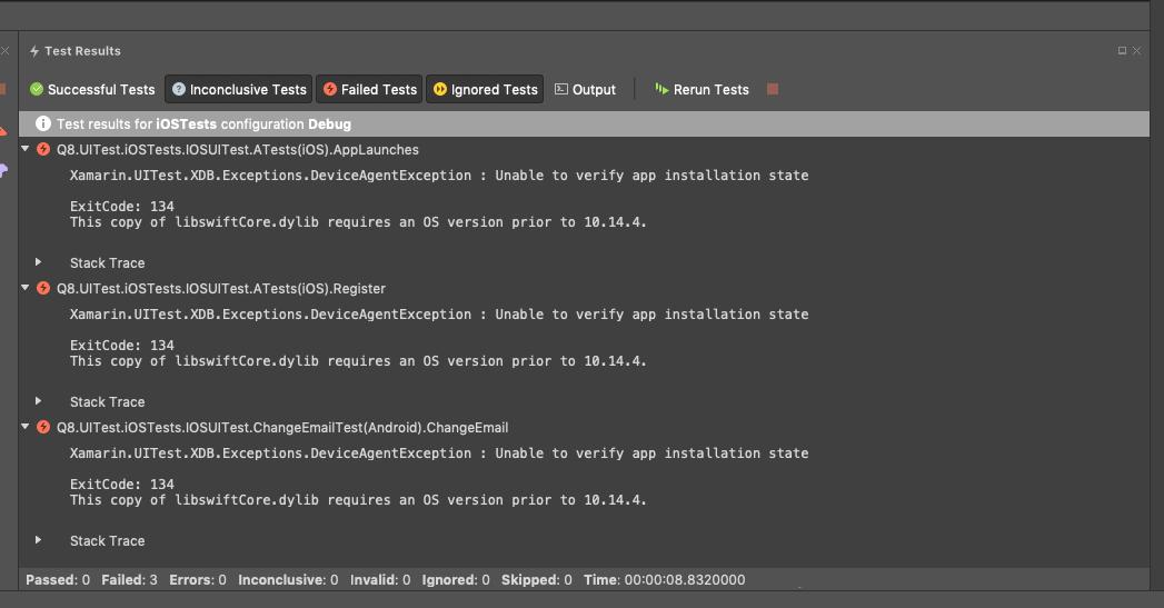 Issue with MacOS 10 14 4 · Issue #5816 · xamarin/xamarin