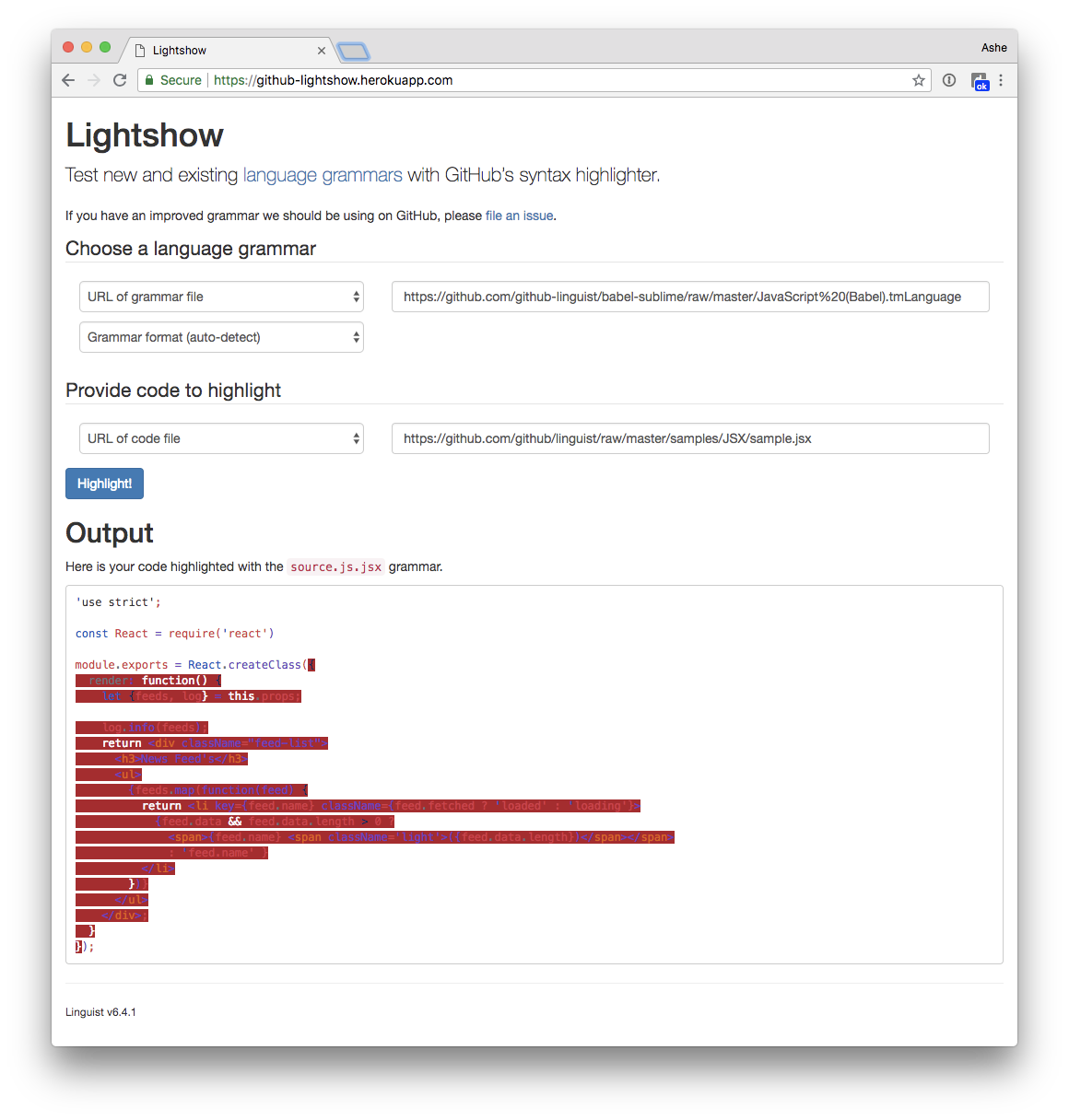 Notice: Lightshow is temporarily offline · Issue #4168 · github
