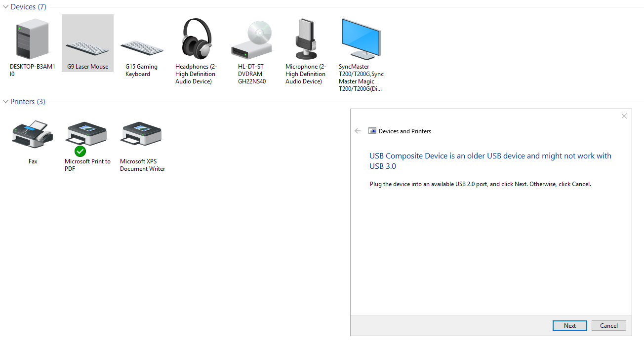 Developers - USB Errors on Ryzen PC (and Intel???) -
