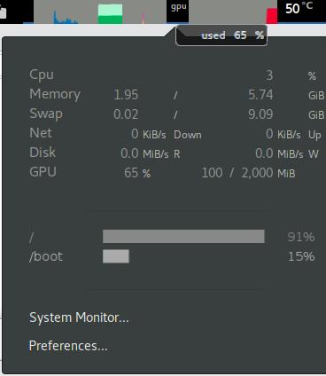 Add Nvidia GPU monitor display · Issue #356 · paradoxxxzero