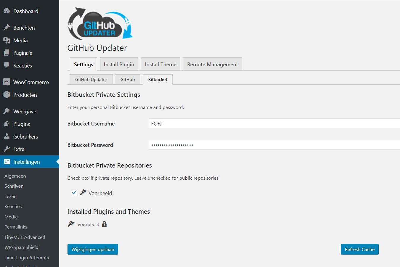 Bitbucket update not working · Issue #667 · afragen/github-updater