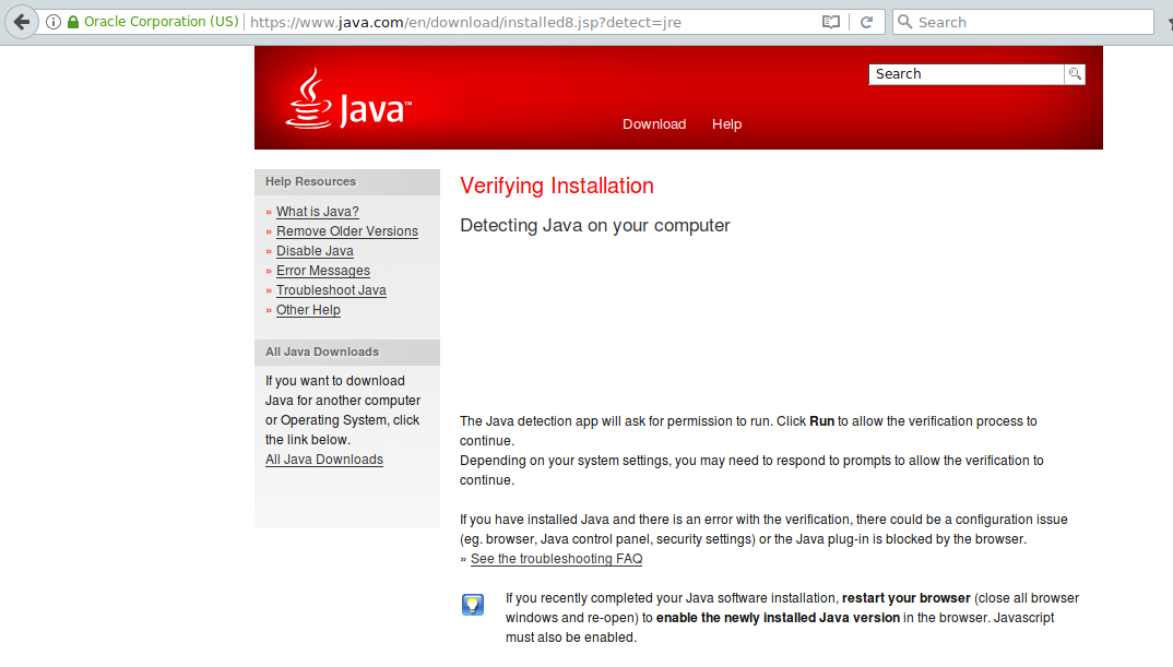 Java plugin: IcedTea-Web activated but not working with Waterfox