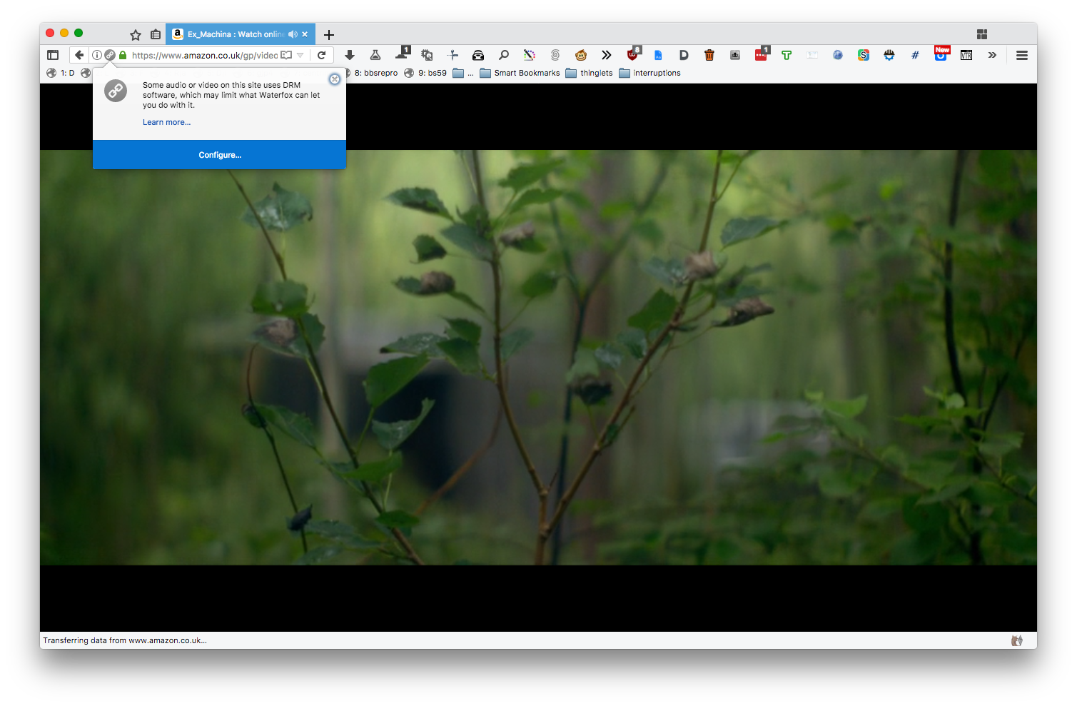 firefox drm content linux