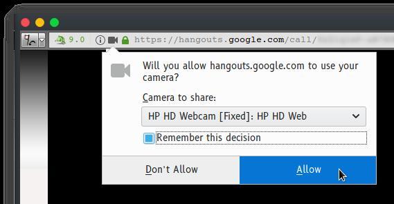 FIX]: Google Hangouts phone calls don't work because of