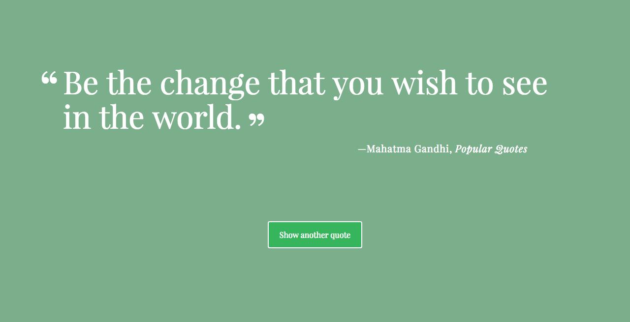 GitHub - BrianQMclaren/Random-Quote-Generator: Random quote