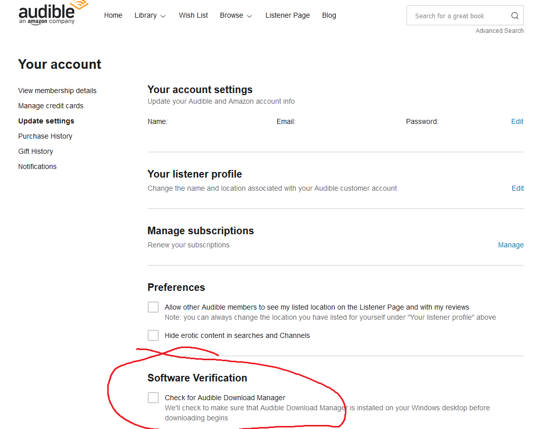 Add extra troubleshooting tip · Issue #13 · openaudible