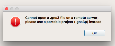 2 1] Open * gns3 file on remote-only server · Issue #2377