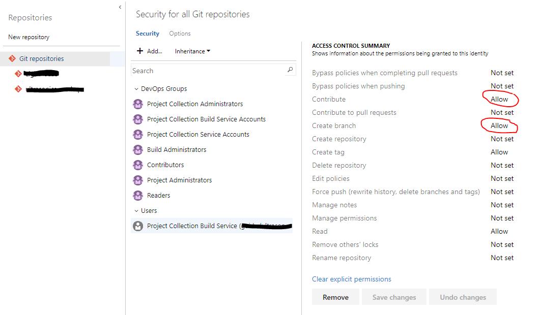 Azure DevOps: Failed git update should be an error · Issue #556