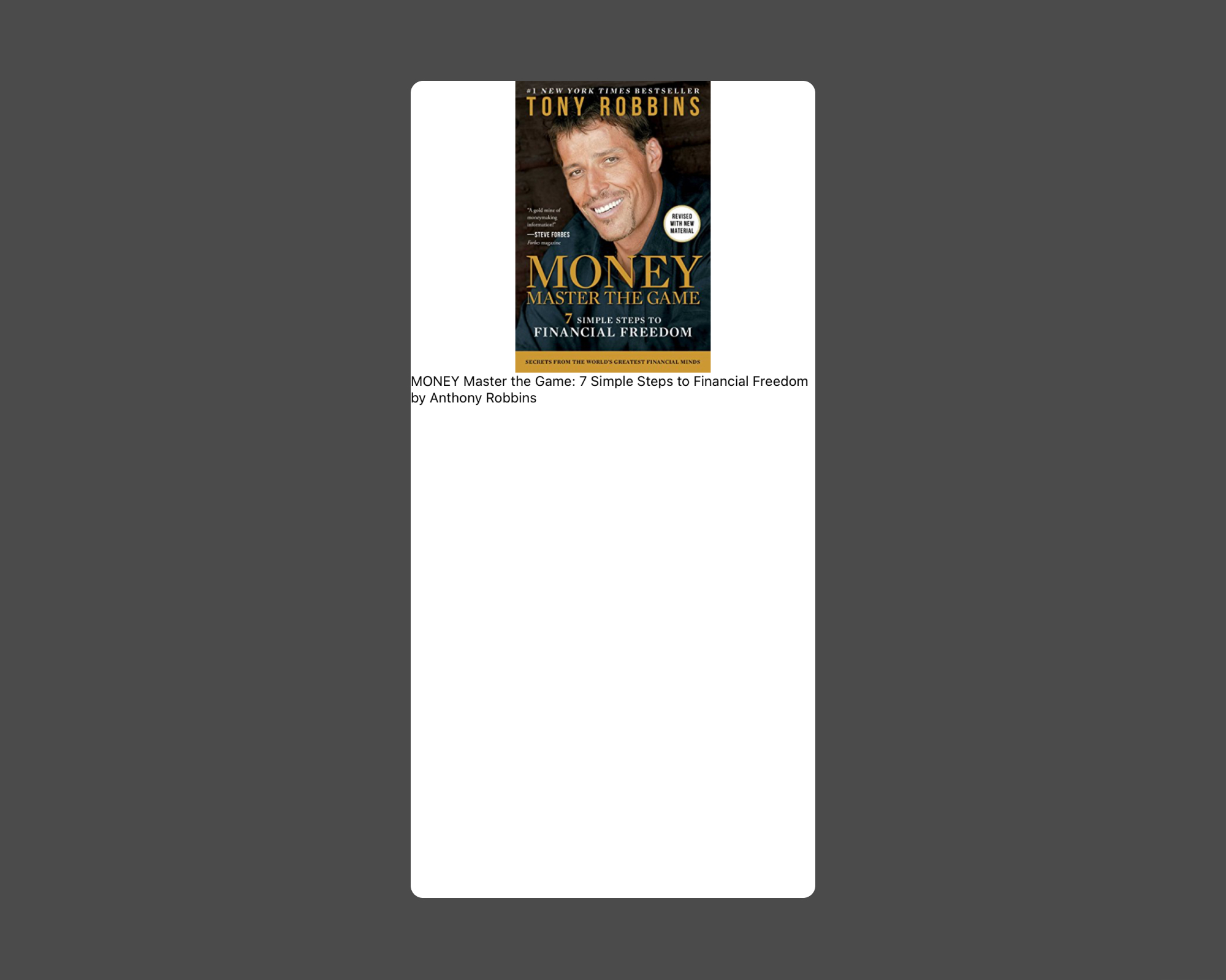 BigBinary React Native Book - Introduction Assignment task design