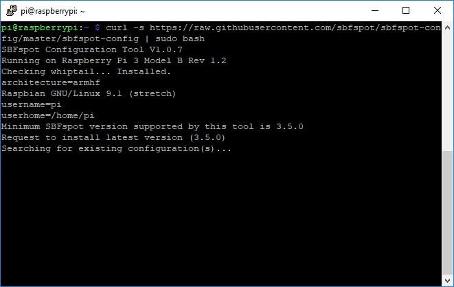 GitHub - SBFspot/sbfspot-config: Installation/Configuration