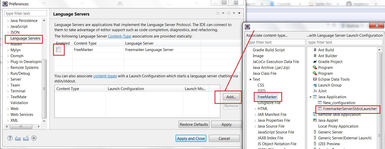 Initialize Language Server