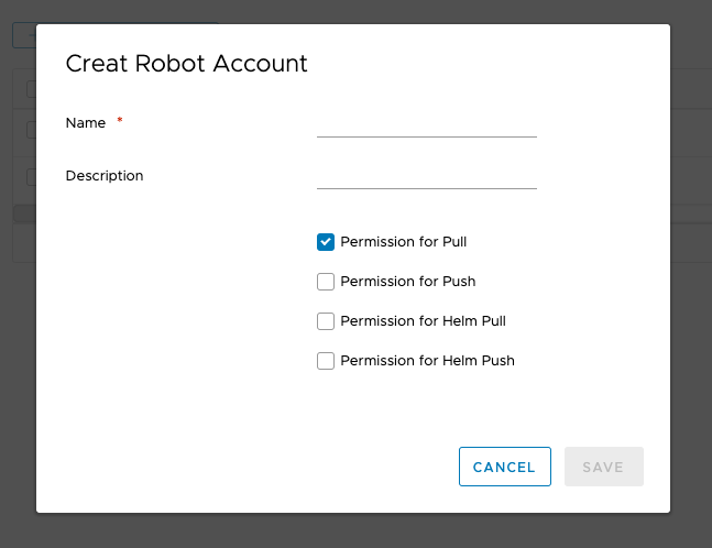 Allow Robot users to upload Helm Charts · Issue #7604