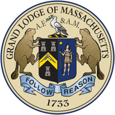 Emblem of the Grand Lodge of Massachusetts