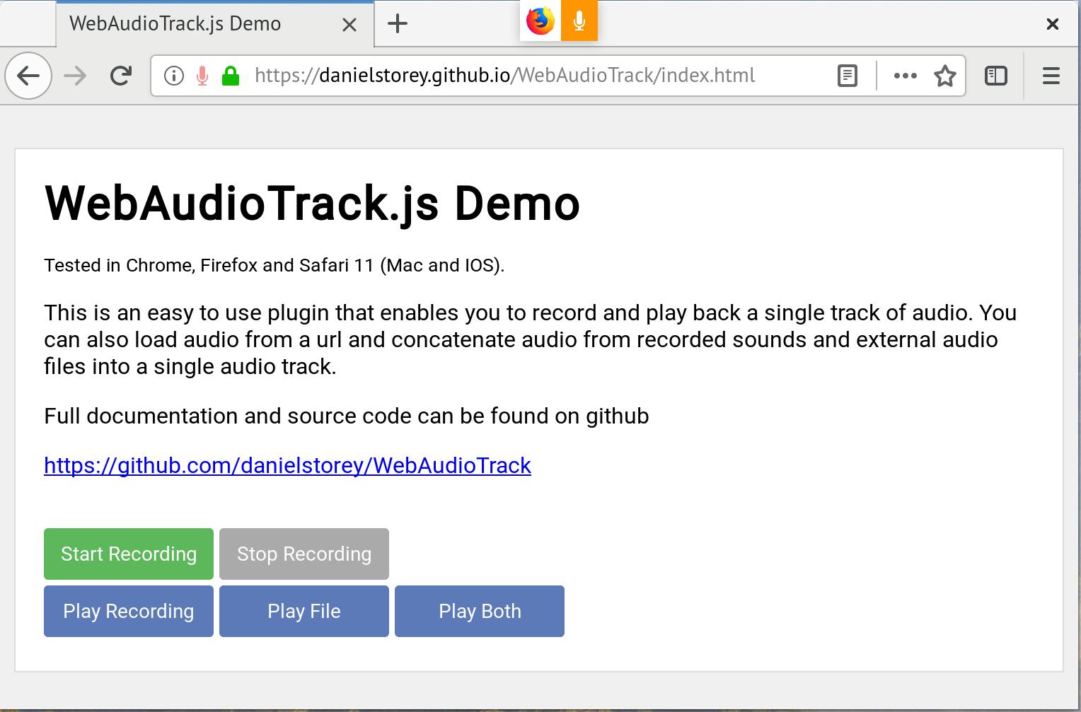 Firefox requesting permission · Issue #20 · ai/audio-recorder