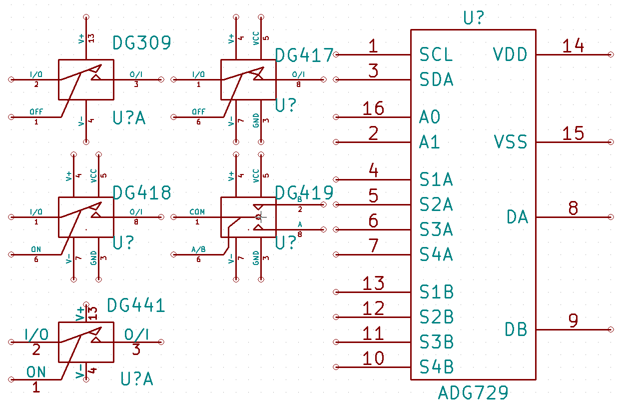 Analog Switch Schematic Symbols Issue 1473 Kicad Library Symbol Software Back To Multi Gate Switches Here Are Images