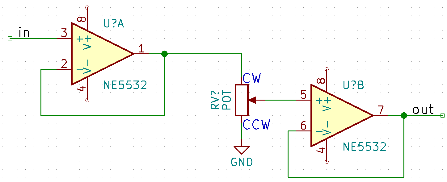 Here is a circuit fragment: