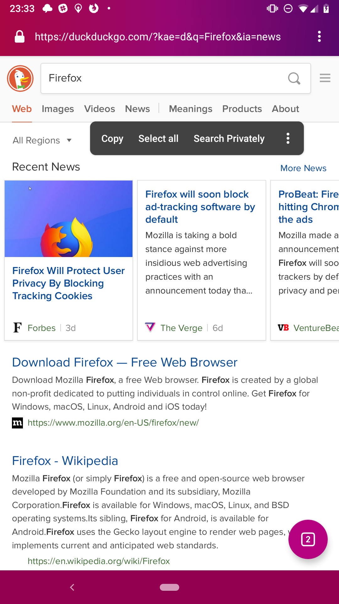 Download Firefox For Android Phone
