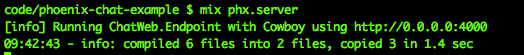 server-running