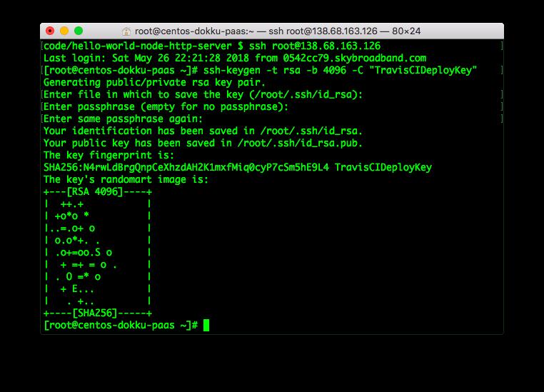generating new ssh keys github