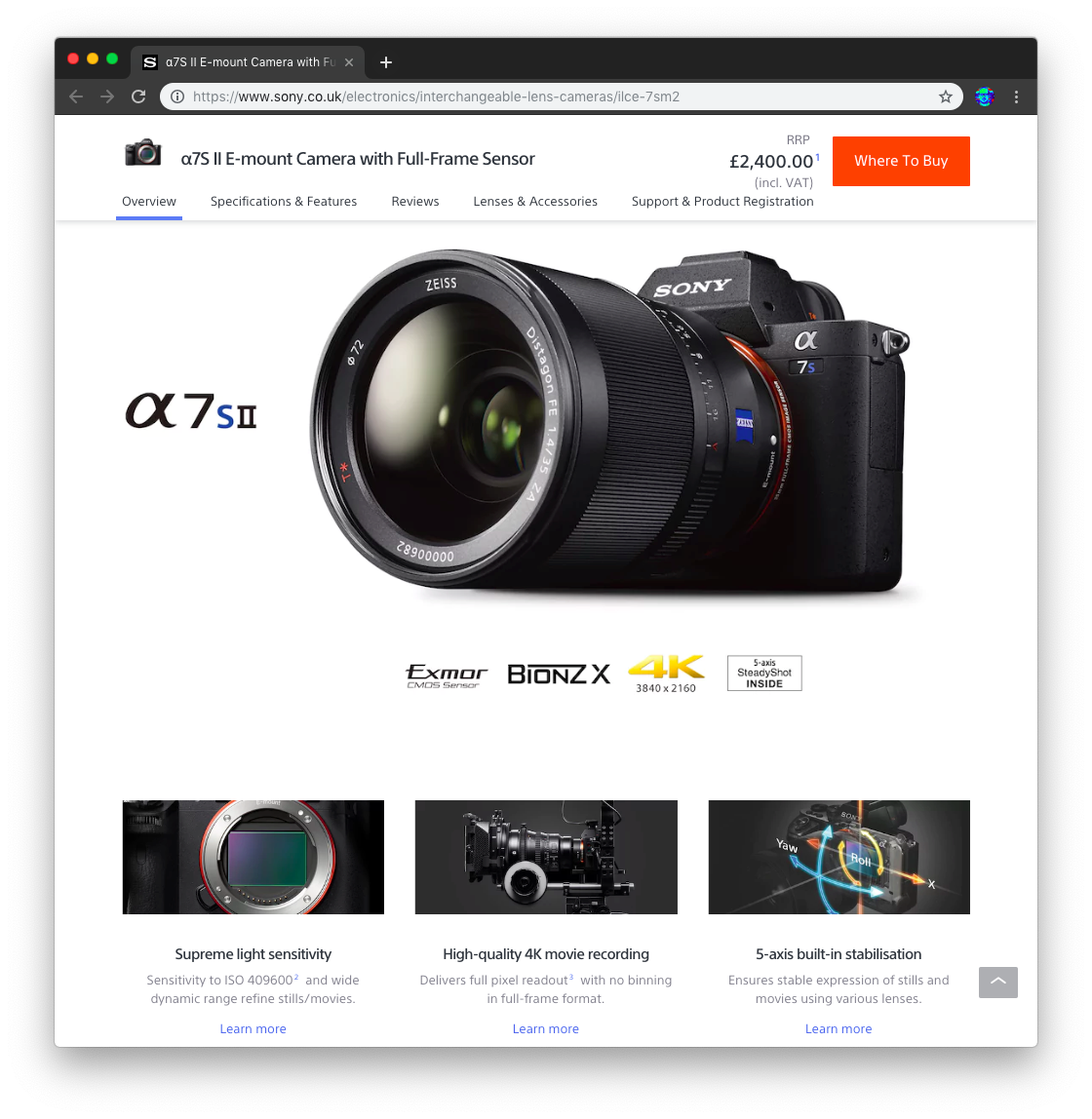 Sony Mirrorless Full Frame Camera for Video · Issue #49 · dwyl/video ...