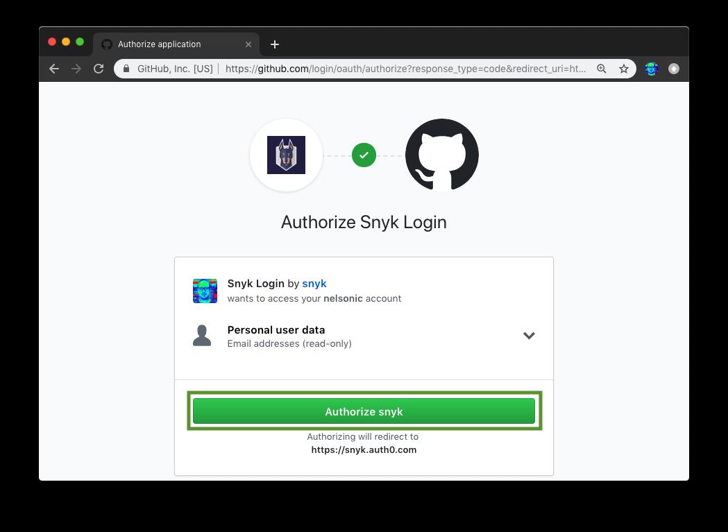 03-snyk-authorise