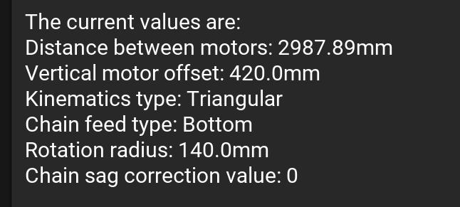 maslow-calibration-values