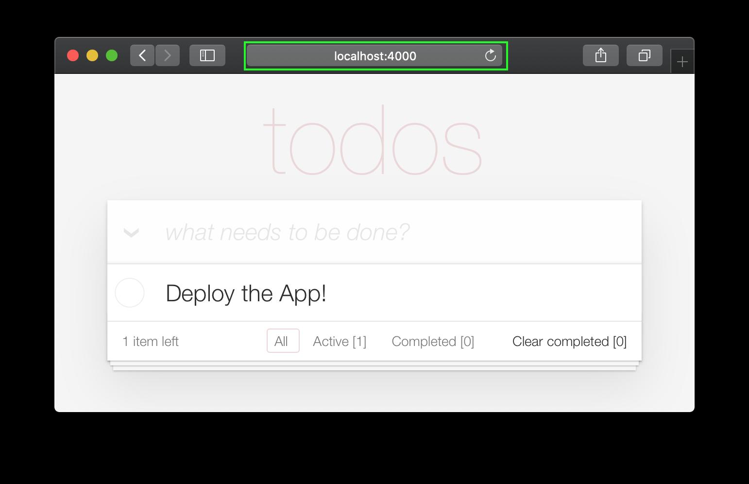 todo-app-on-homepage
