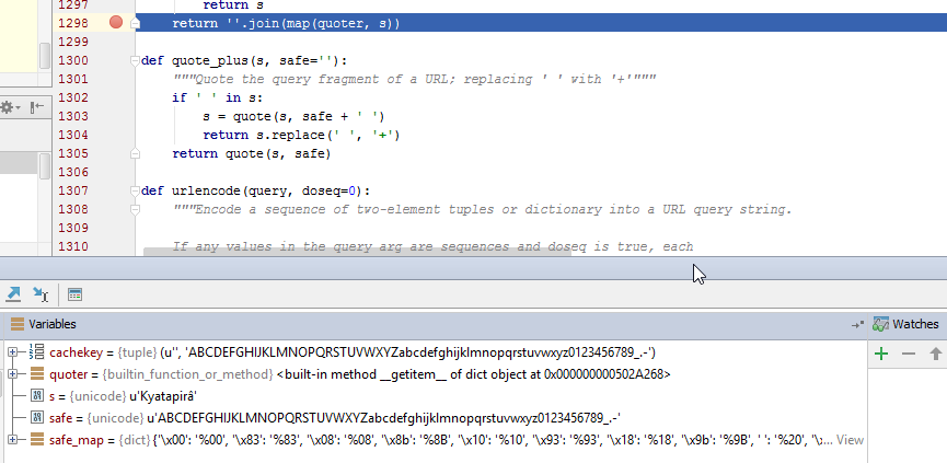 UnicodeWarning: Unicode equal comparison failed to convert