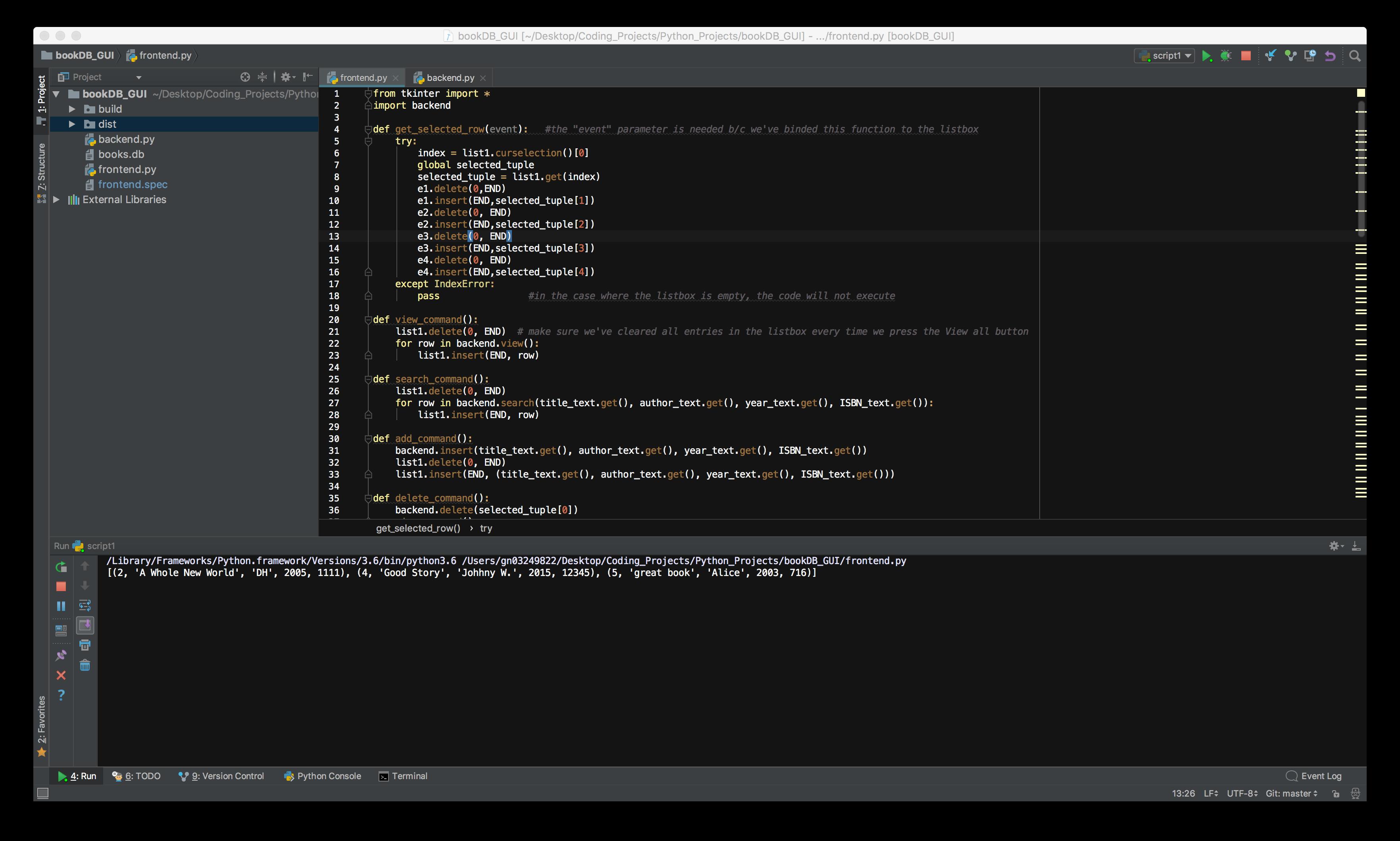 GitHub - gn03249822/Python-GUI-Bookstore: database