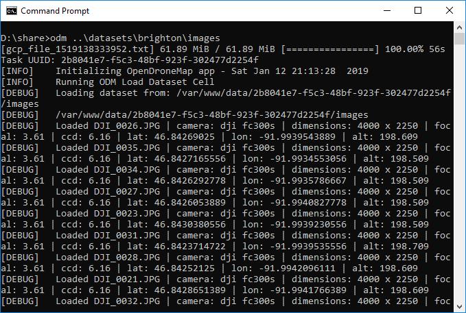 CloudODM screenshot