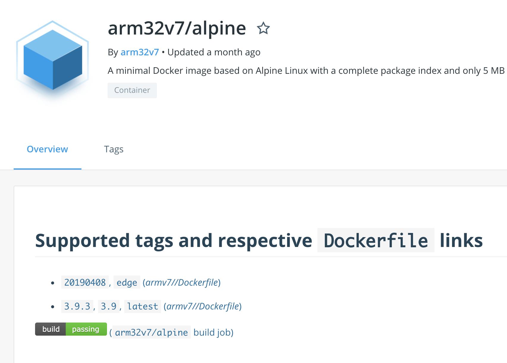 Docker Alpine 20.20.20 for ARMv20 is missing on Dockerhub · Issue 20 ...